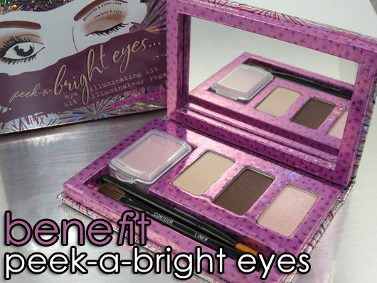 BeneFit Cosmetics Peek a Bright Eyes Palette
