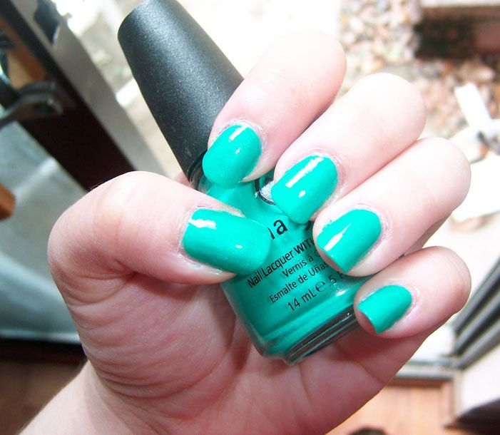 China Glaze Turned Up Turquoise 849237