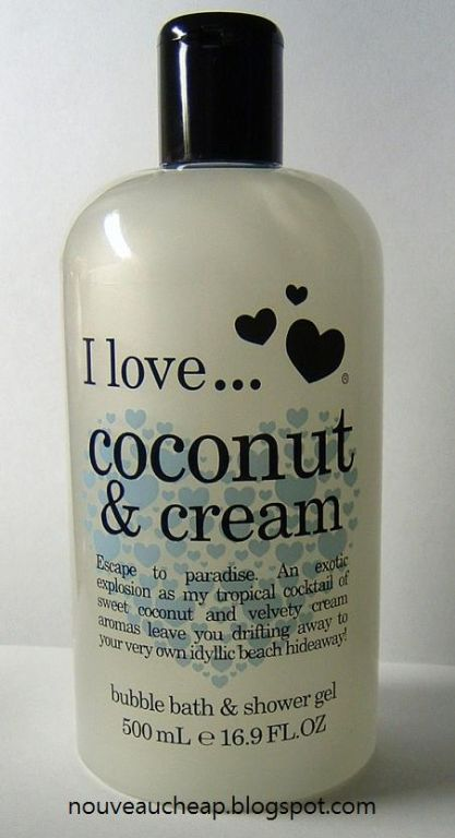 I Love...Coconut & Cream shower gel