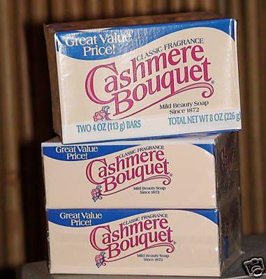 CASHMERE BOUQUET CLASSIC MILD BEAUTY SOAP BAR