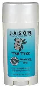 Jason Natural Cosmetics Tea Tree Deodorant Stick