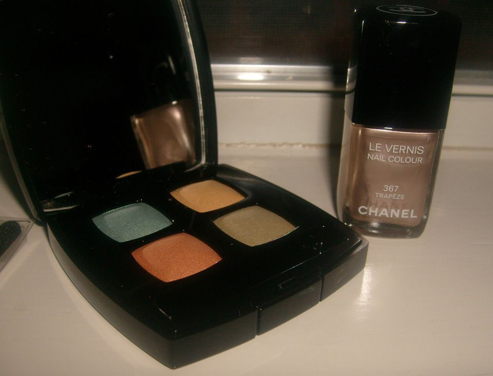 Chanel Quadra Eye Shadow - 15 Bird of Paradise