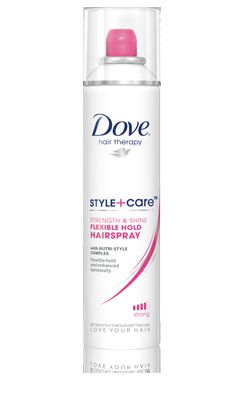 Dove Strength & Shine Flexible Hold Hairspray