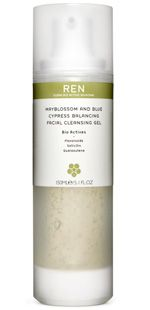 Ren Mayblossom and Blue Cypress Facial Wash