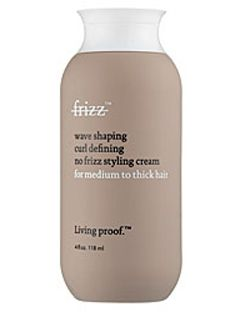 Living Proof No Frizz Wave Shaping Curl Defining No Frizz Styling Cream for Medium to Thick Hair [DISCONTINUED]