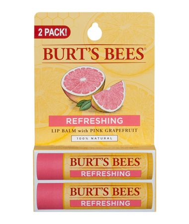 Burt's Bees Pink Grapefruit Refreshing Lip Balm