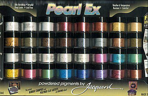 Pearl Ex  pigments