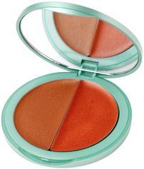 Pout Pout Cheek to Cheek Cream Color in Coral Nymph and Bronze Siren