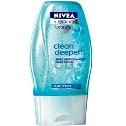 Nivea Clean Deeper! Daily Deep Cleansing Wash Scrub