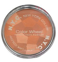 New York Color Colour Wheel Mosaic Powder in Mocha Glow