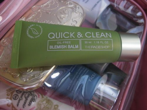 TheFACEShop quick and clean oil-free bb cream