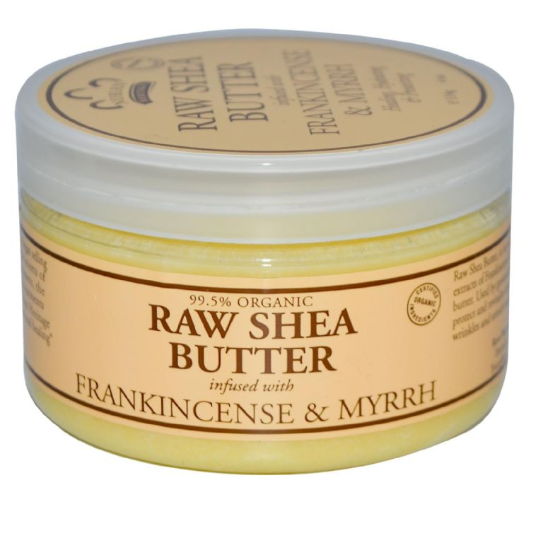 Nubian Heritage Raw Shea Butter, Infused with Frankincense & Myrrh