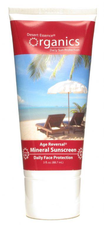 Desert Essence Age Reversal Pomegranate Mineral Sunscreen