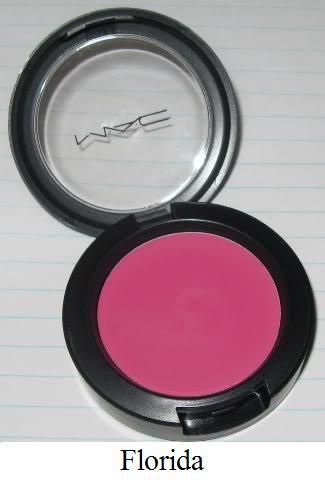 MAC Cremeblend blush in Florida