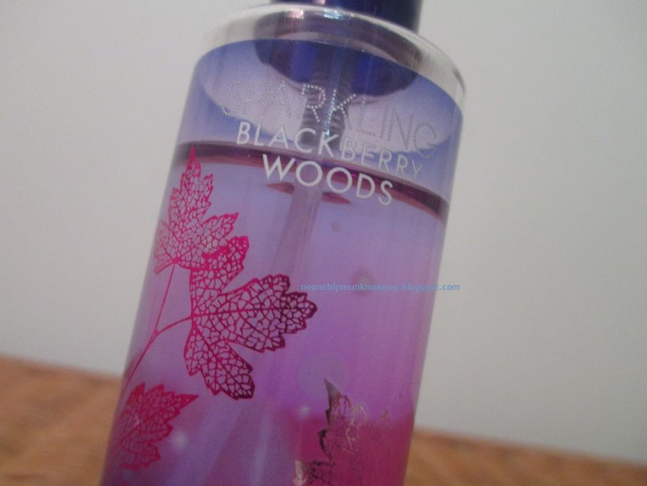 Bath and Body Works Sparkling Blackberry Woods