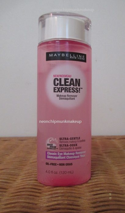 Maybelline Clean Express Classic Eye Makeup Remover