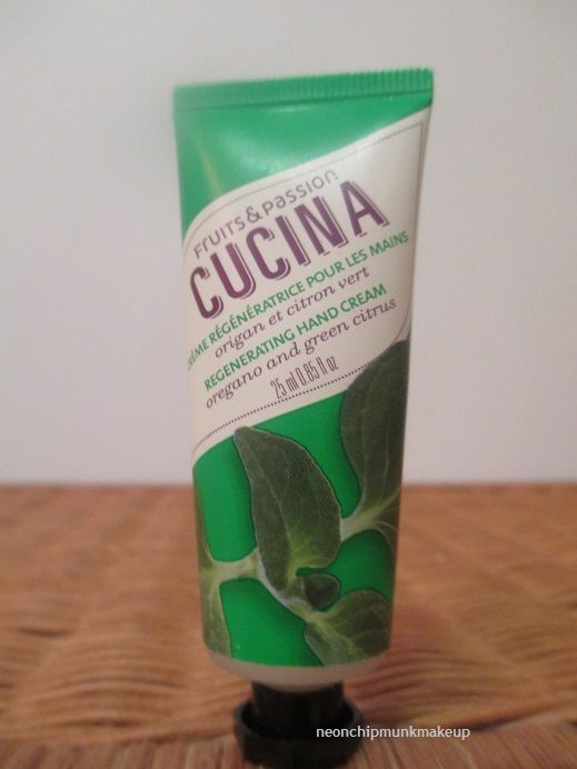Fruits & Passion Cucina Regenerating Hand Creme (any scent)