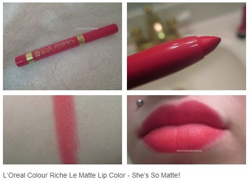 L'Oreal Colour Riche Le Matte - She's so Matte