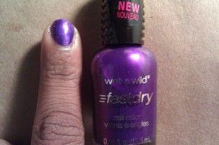Wet 'n' Wild FastDry - Buffy the Violet Slayer