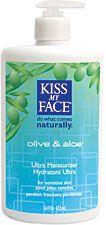 Kiss My Face Olive & Aloe Moisturizer