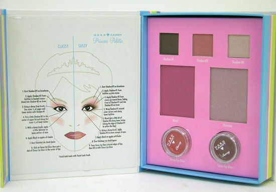 Hard Candy Princess Palette Makeup Kit