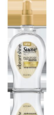 Suave Professionals Vibrant Shine Spray *new version*