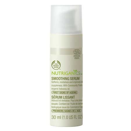 The Body Shop Nutriganics Smoothing Serum