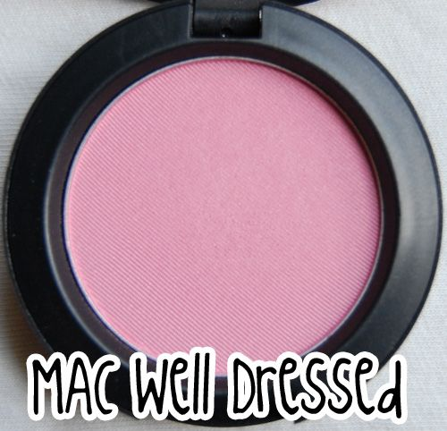 MAC Satin Blush - Well Dressed