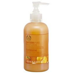 The Body Shop Satsuma body lotion