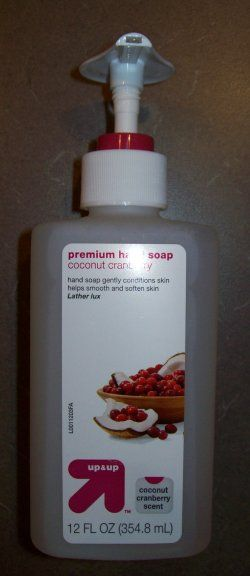Target up & up Premium Hand Soap - Coconut Cranberry