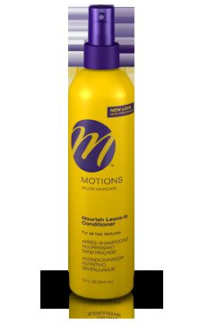 motions at home-nourish leave-in conditioner