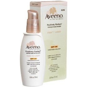 Aveeno prositively radiant CC Cream (tinted moisturizer)