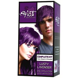 Splat! long lasting hair color in Lusty Lavender