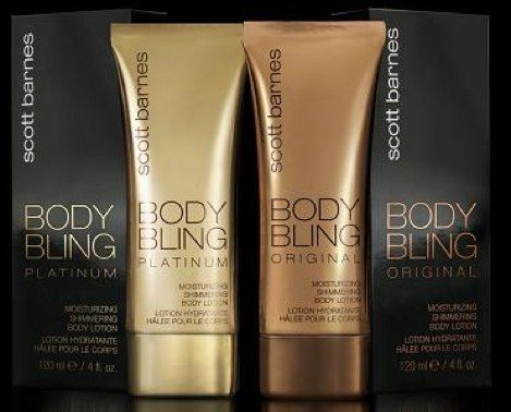 Scott Barnes Body Bling all over body bronzer