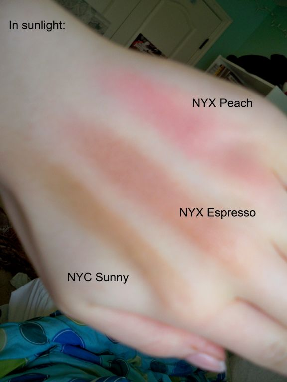 NYX Powder Blush - Expresso/Espresso