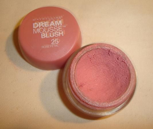 Maybelline Dream Mousse Blush in Rose Petal ] [DISCONTINUED]
