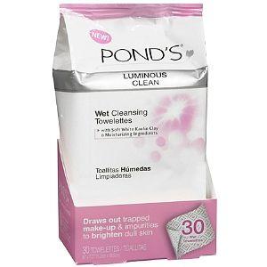 Ponds Luminous Clean Wet Towelettes