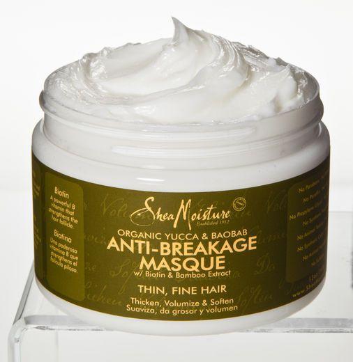 Shea Moisture Organic Anti-Breakage Hair Masque Yucca & Baobab