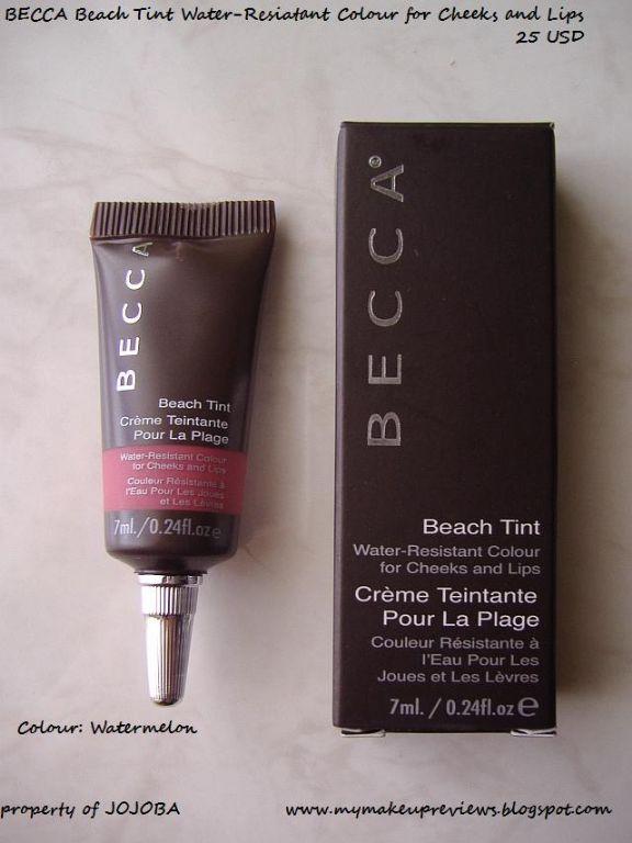 Becca Beach tint grapefruit