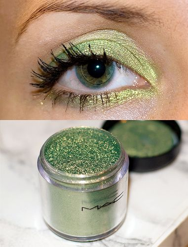 MAC Pigment in Golden Olive