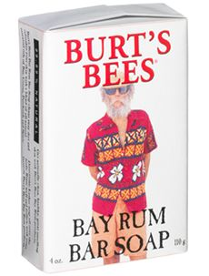 Burt's Bees Bay Rum exfoliating facial bar [DISCONTINUED]