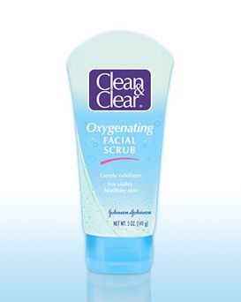 Clean & Clear Oxygenating Facial Scrub [DISCONTINUED]