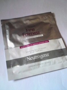 Neutrogena neutrogena fine fairness mask