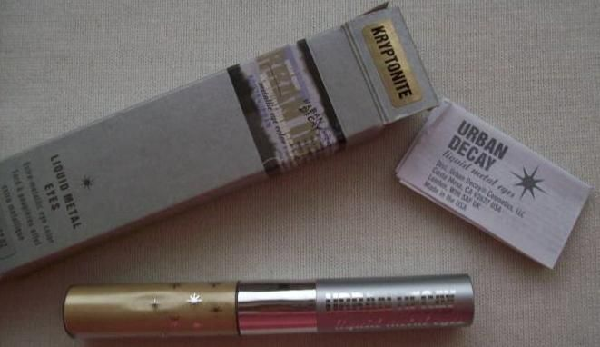 Urban Decay KRYPTONITE liquid metal eyes