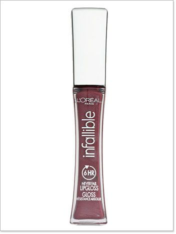 L'Oreal Infallible Lip Gloss in Sangria