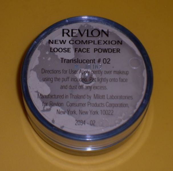 Revlon New Complexion Loose Powder