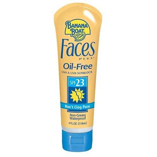 Banana Boat Face Plus Sunblock SPF 23 for Normal/Combination Skin