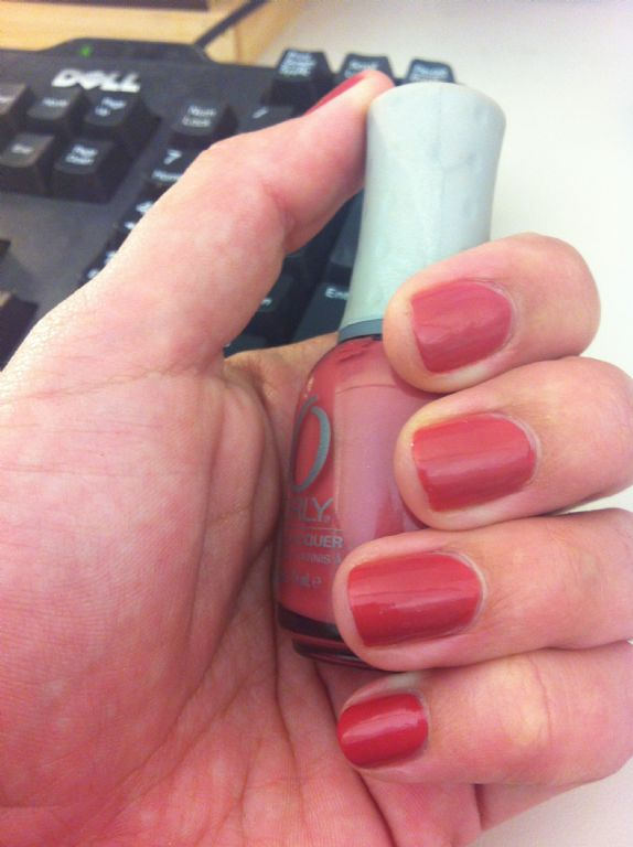 Orly Pink Chocolate