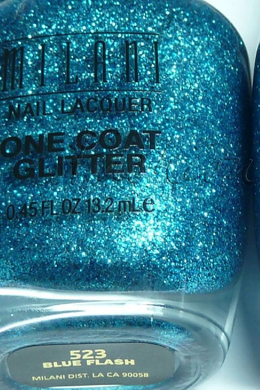 Milani One Coat Glitter - Blue Flash
