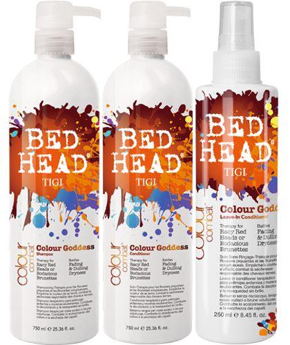 TiGi Bed Head Colour Combats Colour Goddess Leave-In Conditioner